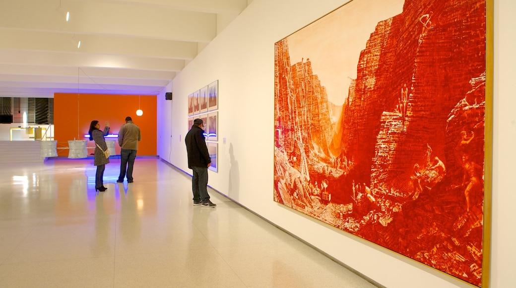 Walker Art Center featuring art and interior views