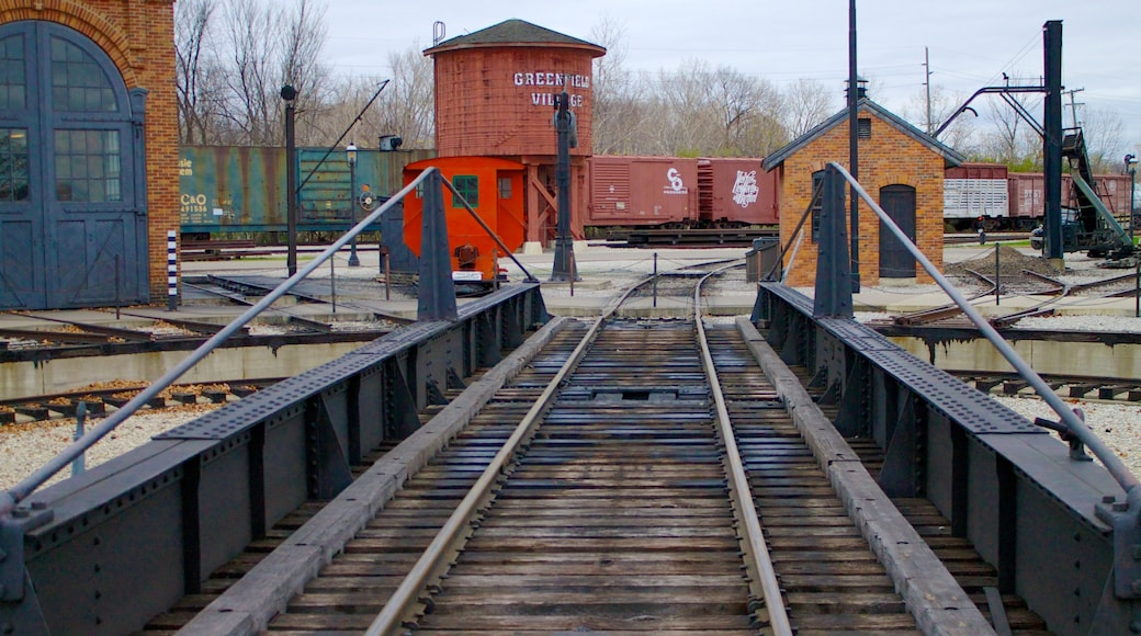 Greenfield Village which includes railway items