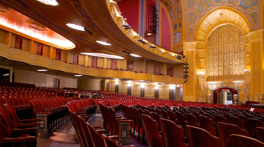 Detroit Opera House which includes interior views and theater scenes