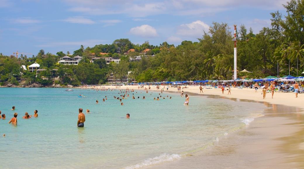 หาดกะตะน้อย แสดง ทิวทัศน์เขตร้อน, เมืองชายฝั่ง และ ว่ายน้ำ