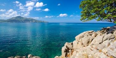 蘭辛格海灘 其中包括 綜覽海岸風景, 熱帶風景 和 山水美景
