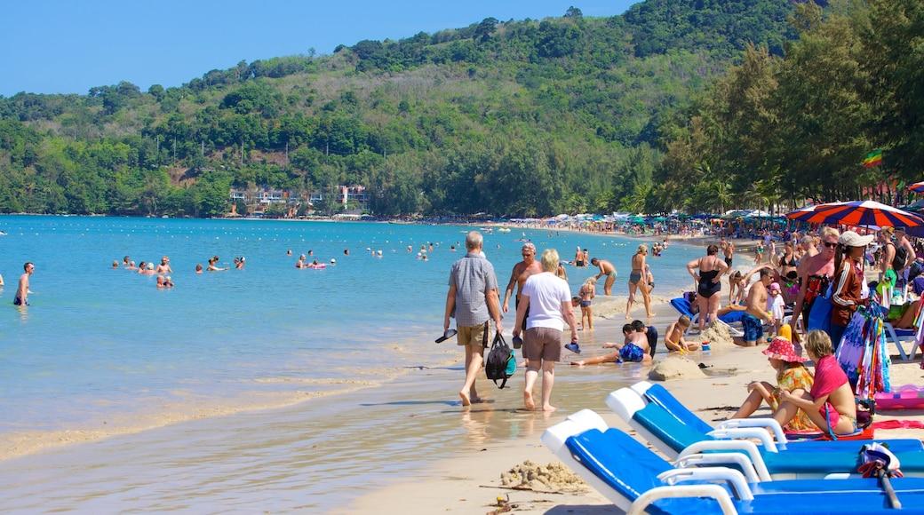 卡馬拉海灘 其中包括 游泳, 海灣或海港 和 海灘
