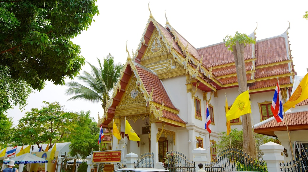 Wat Saket featuring a temple or place of worship