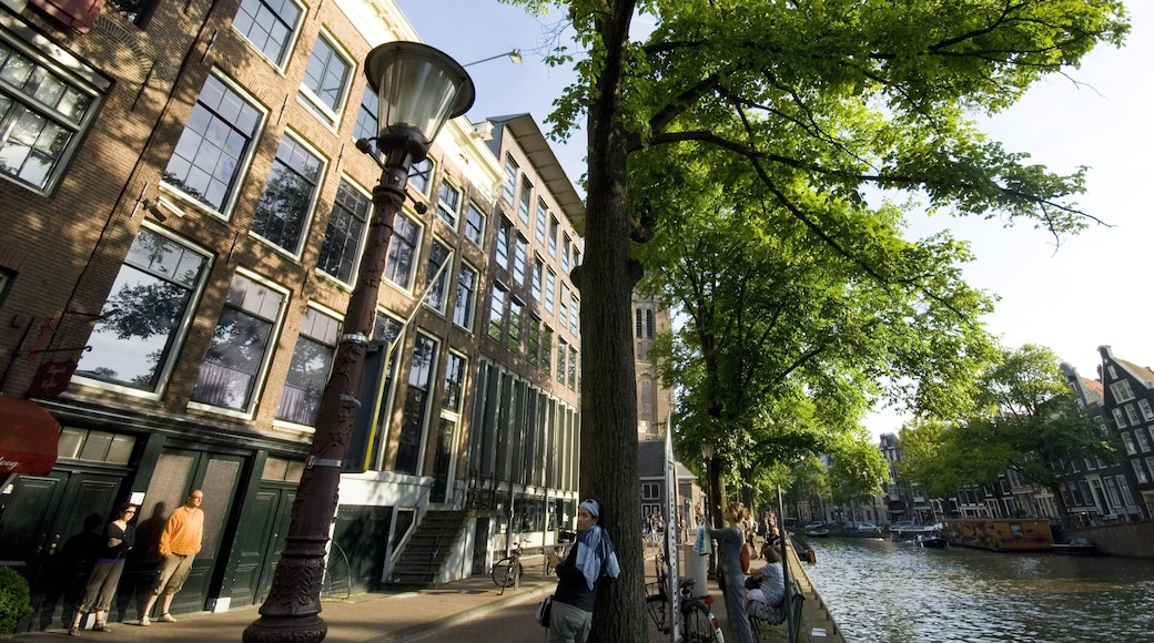 Anne Frank House which includes a city, a house and a memorial