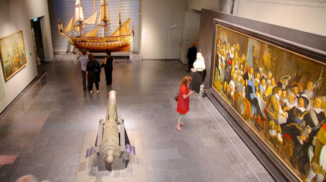 Rijksmuseum, Amsterdam, Nederland fasiliteter samt innendørs