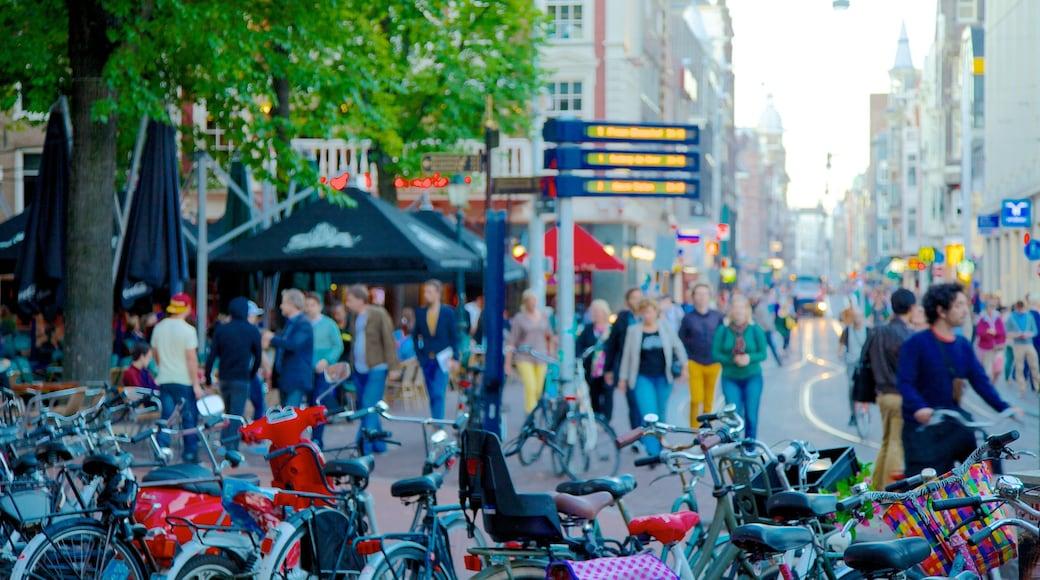 Leidseplein presenterar gatuliv, cykling och en stad