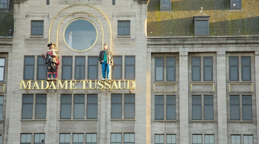 Madame Tussauds toont bewegwijzering