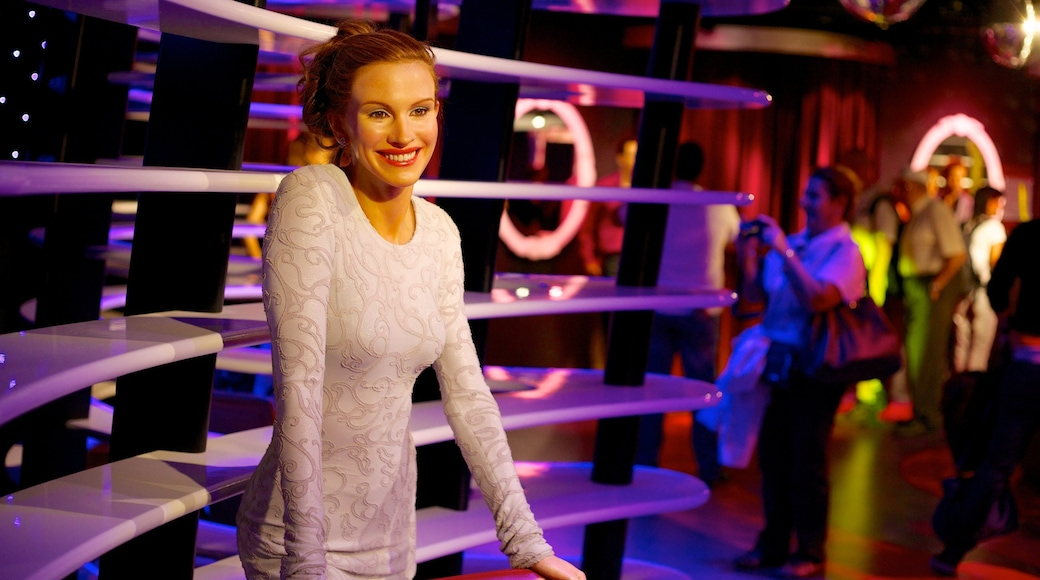 Madame Tussauds toont interieur