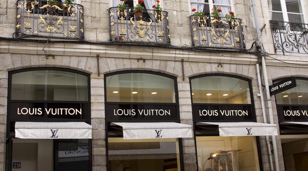 Lille montrant shopping, vues de la ville et ville