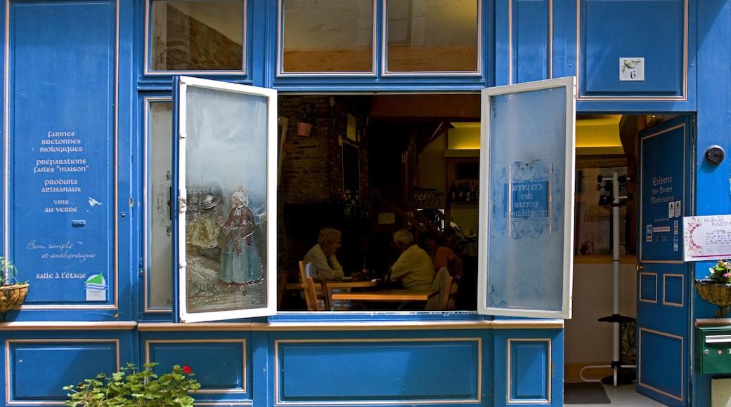 Rennes montrant ville, scènes de café et scènes de rue