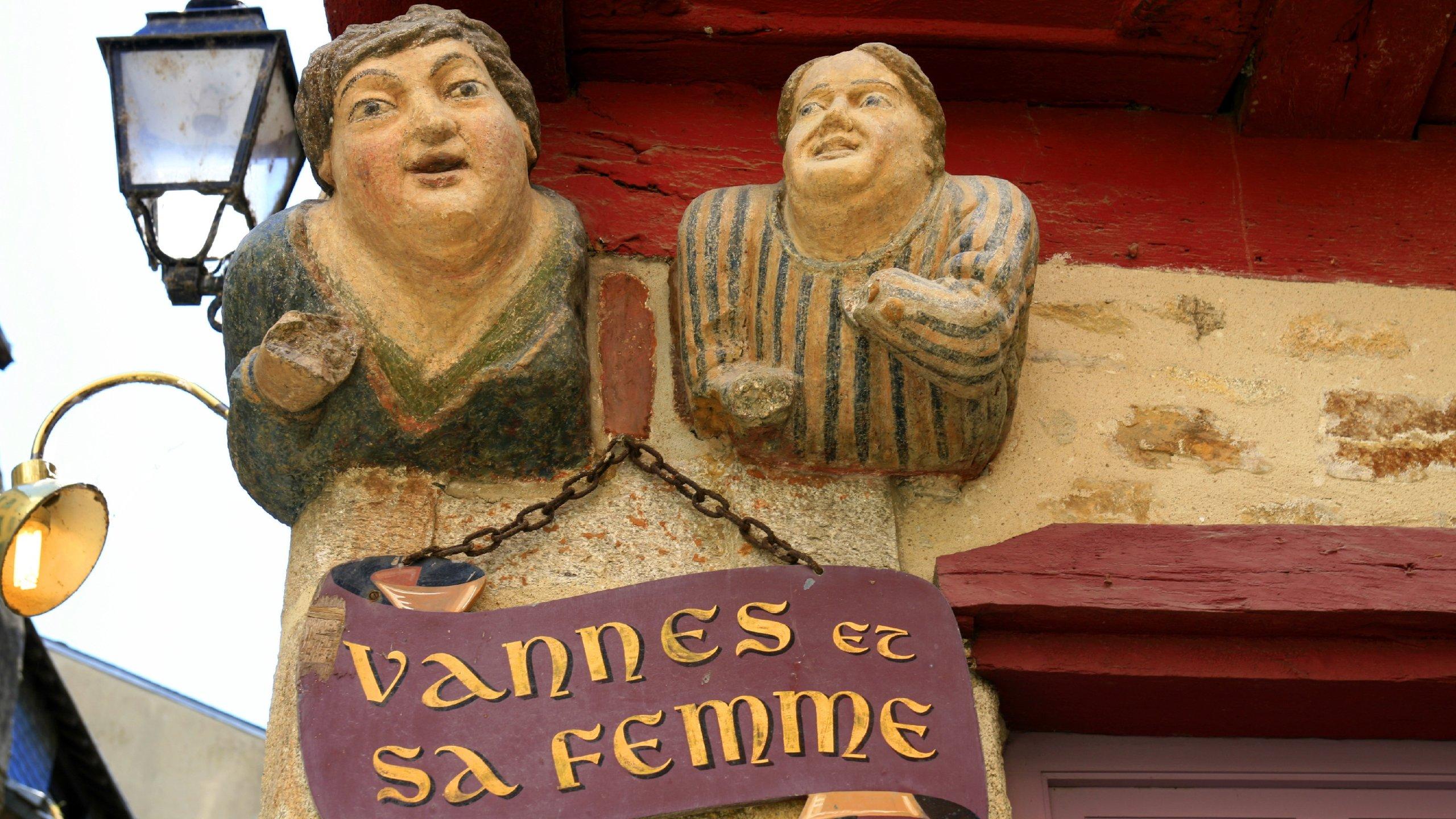 Old Town, Vannes, Morbihan, France