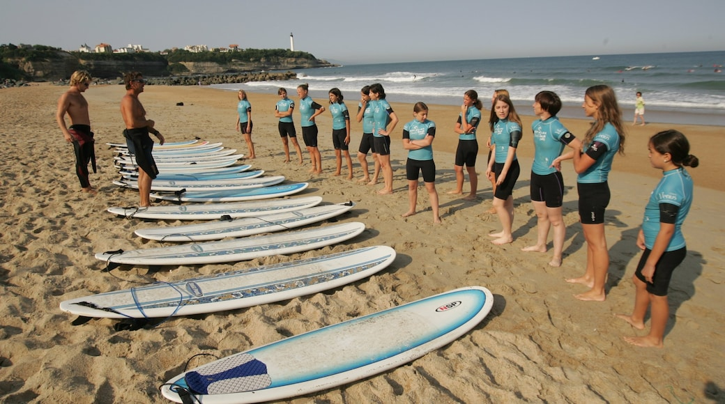 France featuring surfing, a beach and a sporting event