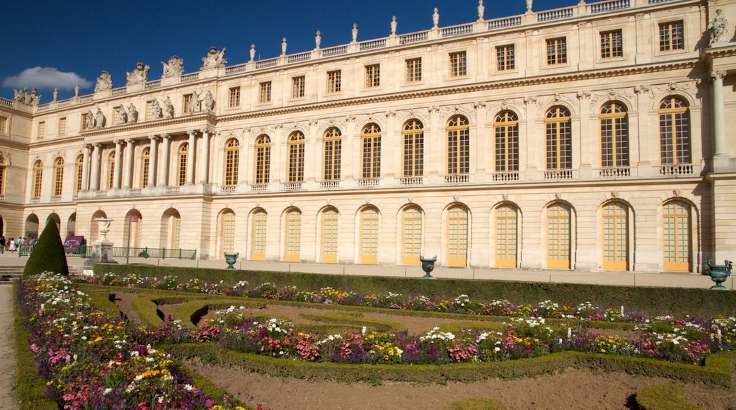 Versailles showing a castle and heritage architecture