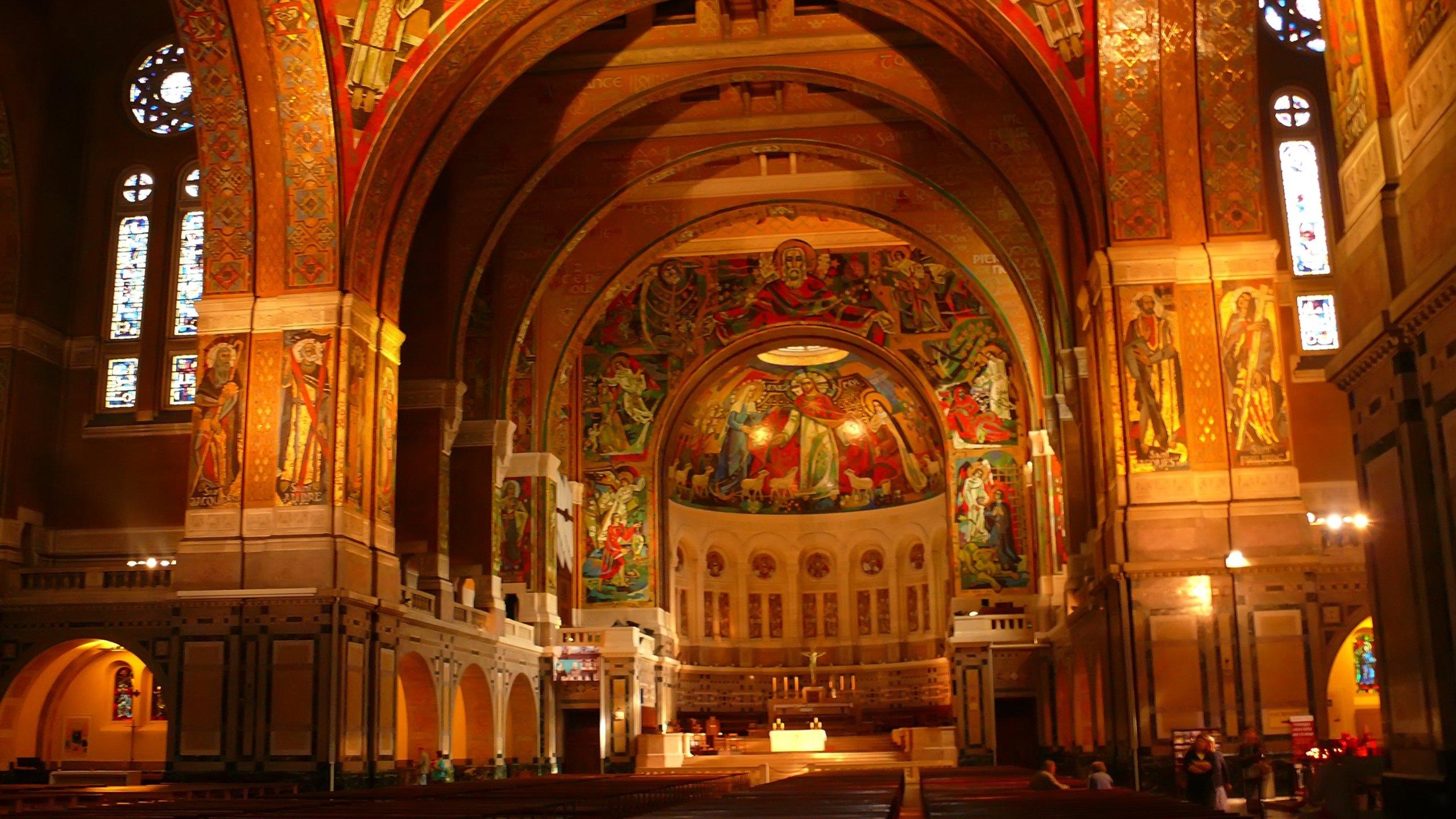 Basilique Sainte-Thérèse, Lisieux, Calvados (departement), Frankrijk