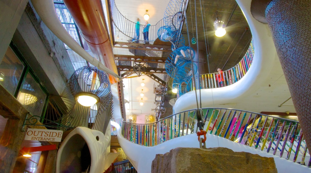 City Museum which includes interior views