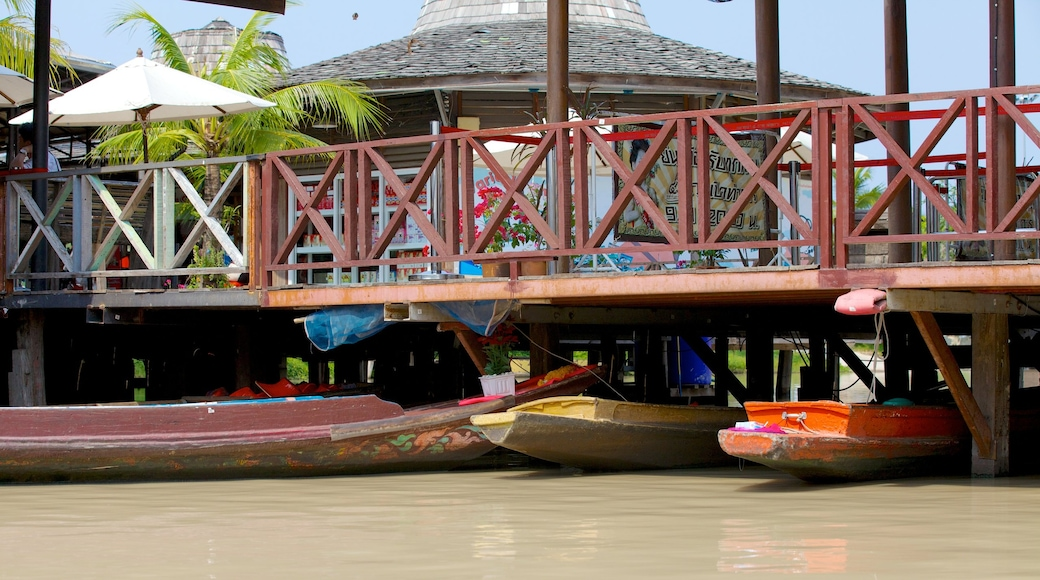 Pattaya Floating Market featuring markets and a river or creek