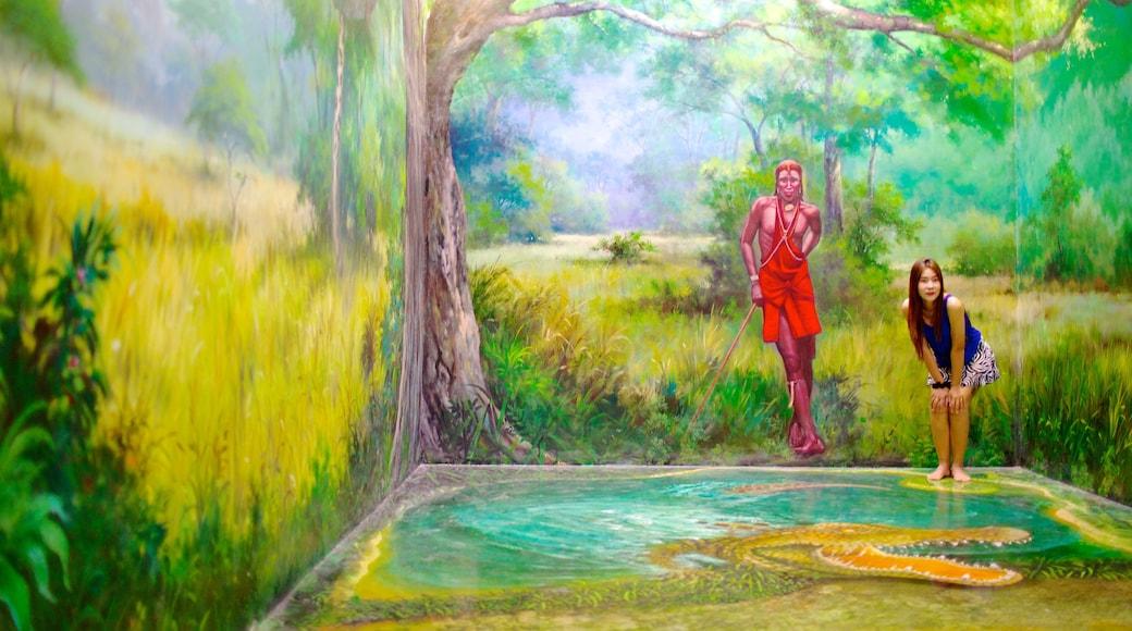 อาร์ต อิน พาราไดซ์ แสดง ศิลปะ ตลอดจน ผู้หญิง