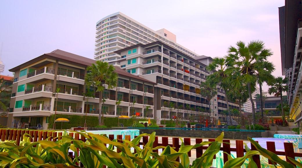 หาดดงตาล แสดง เมือง และ โรงแรม