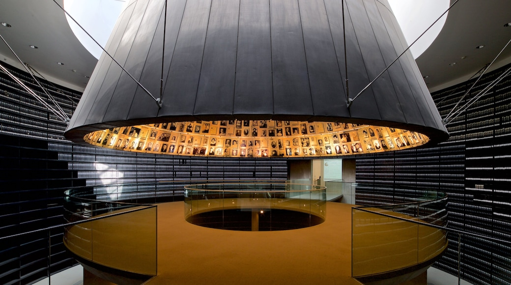 Yad Vashem which includes interior views