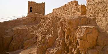 Masada National Park which includes heritage elements and building ruins