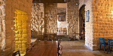 Jaffa featuring interior views and heritage elements