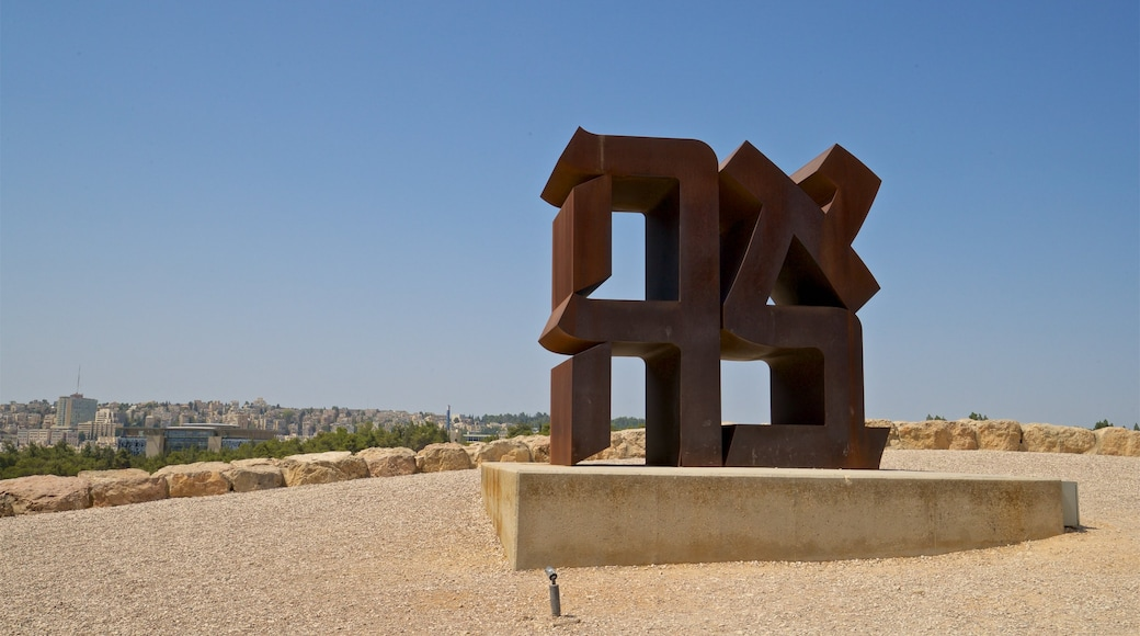 Israel Museum which includes outdoor art