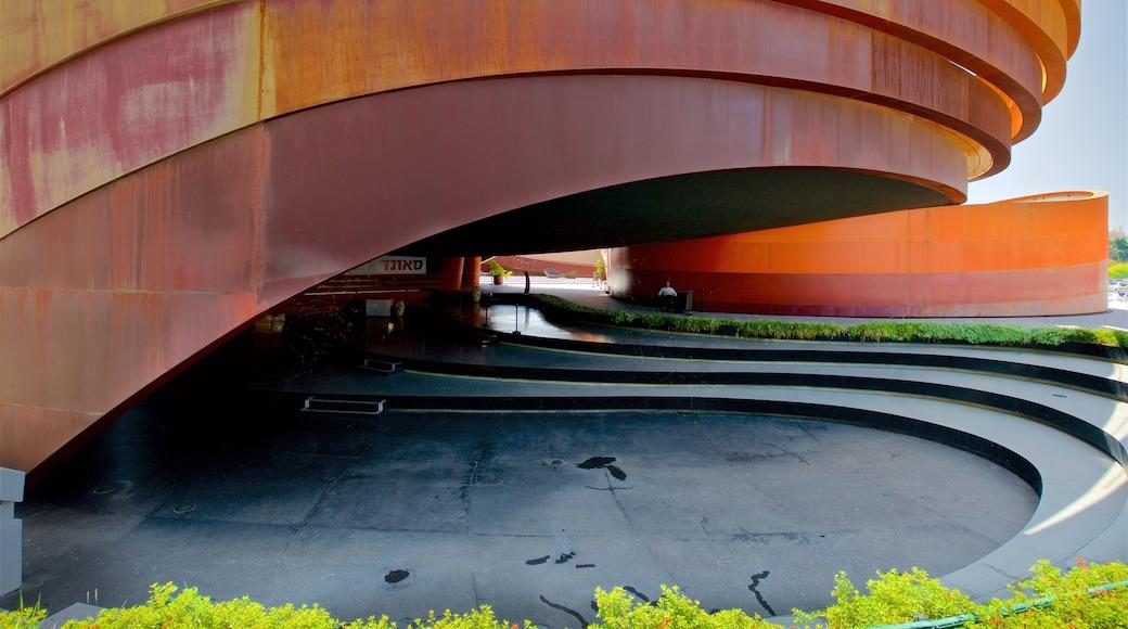 Design Museum Holon which includes modern architecture