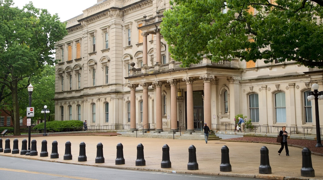 New Jersey State House caracterizando arquitetura de patrimônio