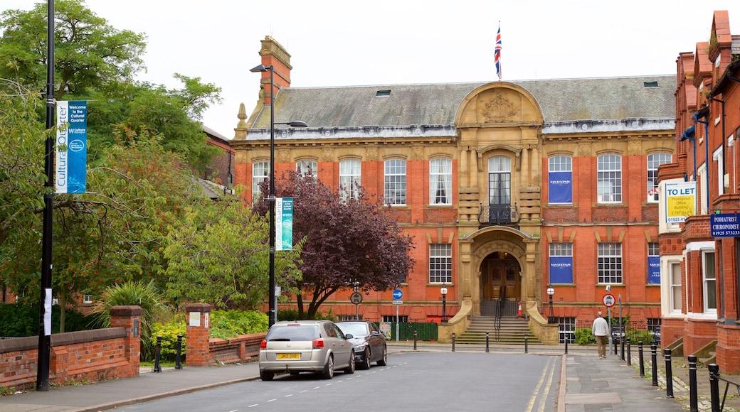 Warrington showing heritage architecture