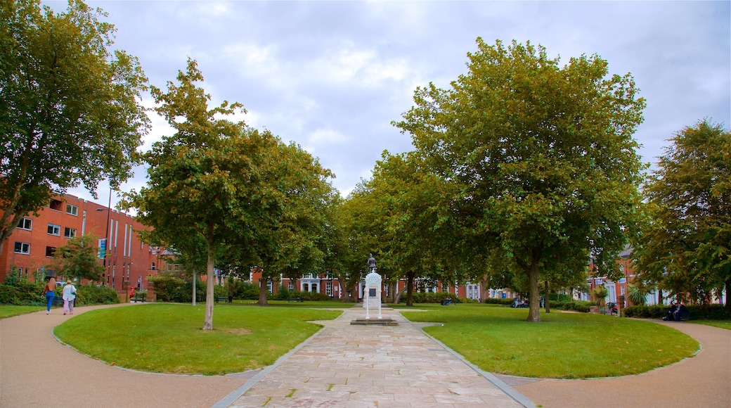 Warrington which includes a park