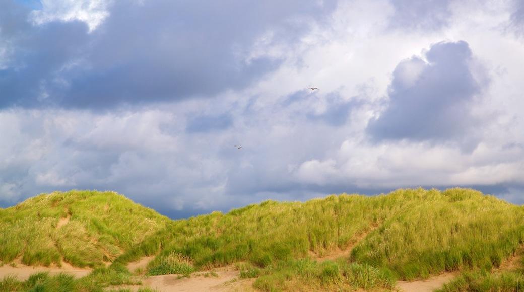 Ainsdale Beach featuring general coastal views and a sandy beach