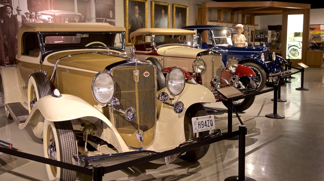 Studebaker National Museum which includes interior views and heritage elements