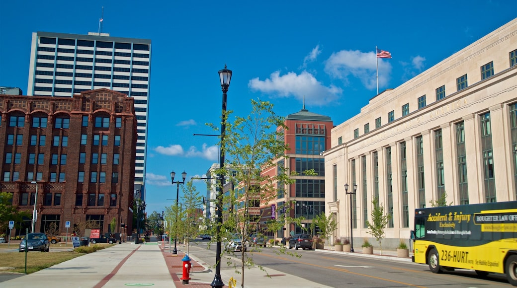 South Bend showing a city