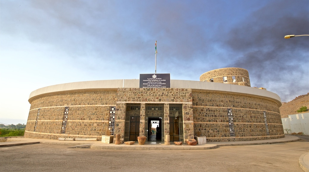 Gawr as-Safi som visar modern arkitektur