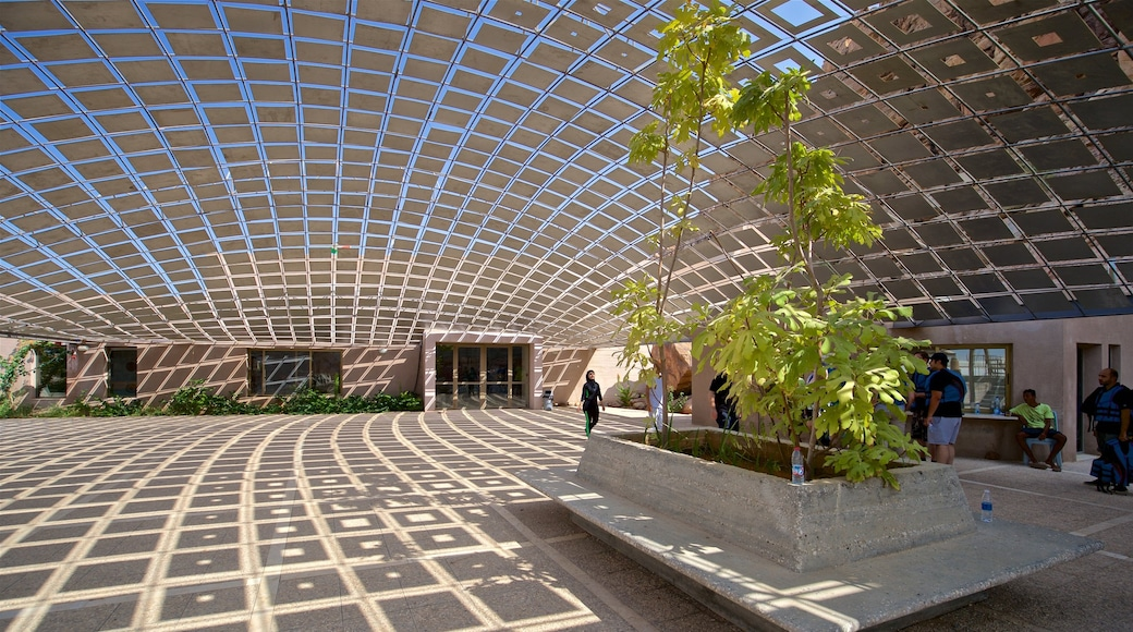 Mujib Nature Reserve featuring interior views and modern architecture
