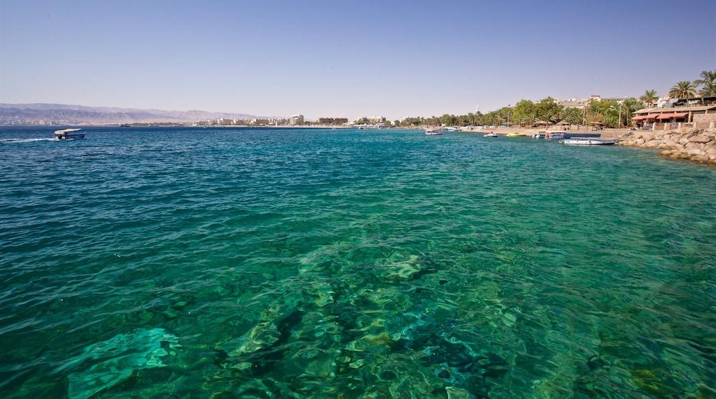 Aqaba som inkluderar kustutsikter
