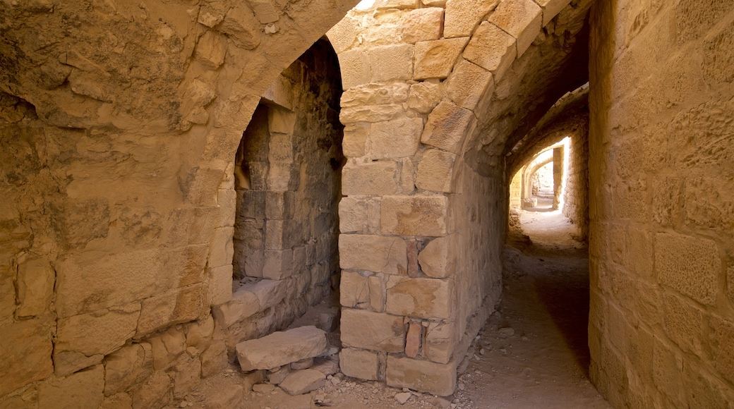 Shobak Castle featuring heritage elements and interior views