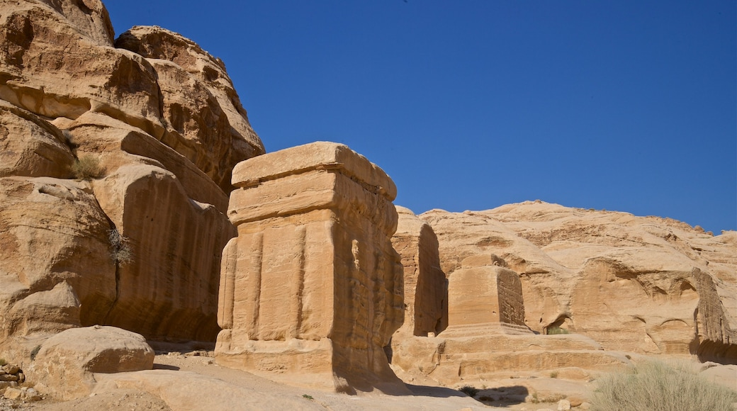 Wadi Musa featuring a gorge or canyon and heritage elements