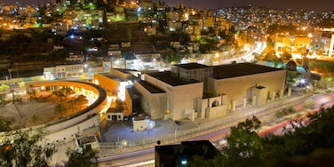 Amman featuring night scenes, a city and landscape views