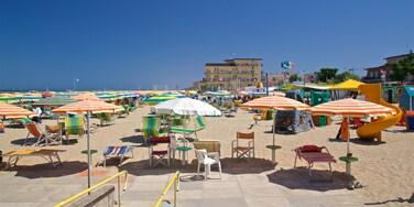 Viserbella featuring general coastal views and a beach