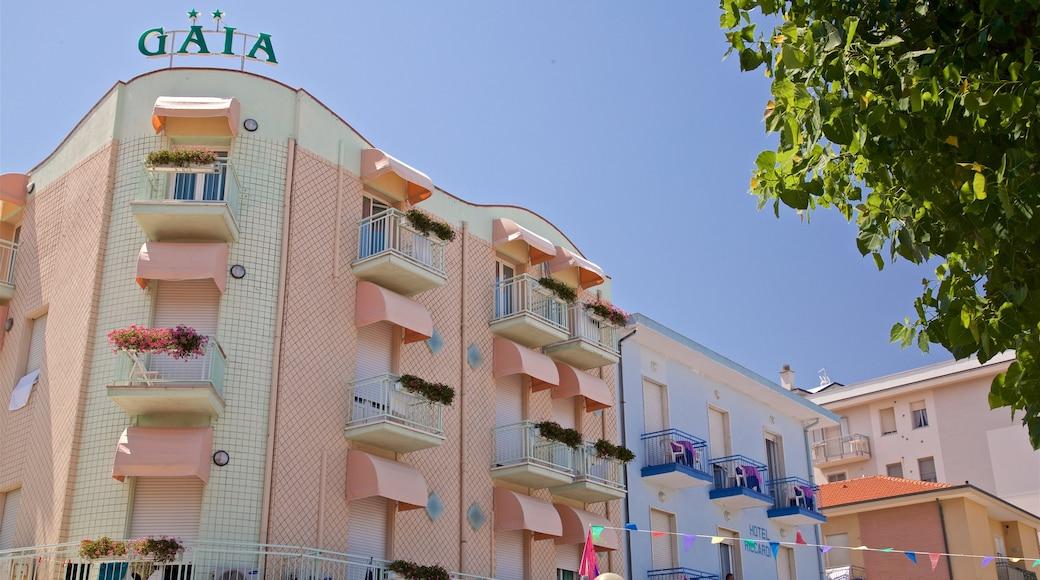 Torre Pedrera welches beinhaltet Beschilderung