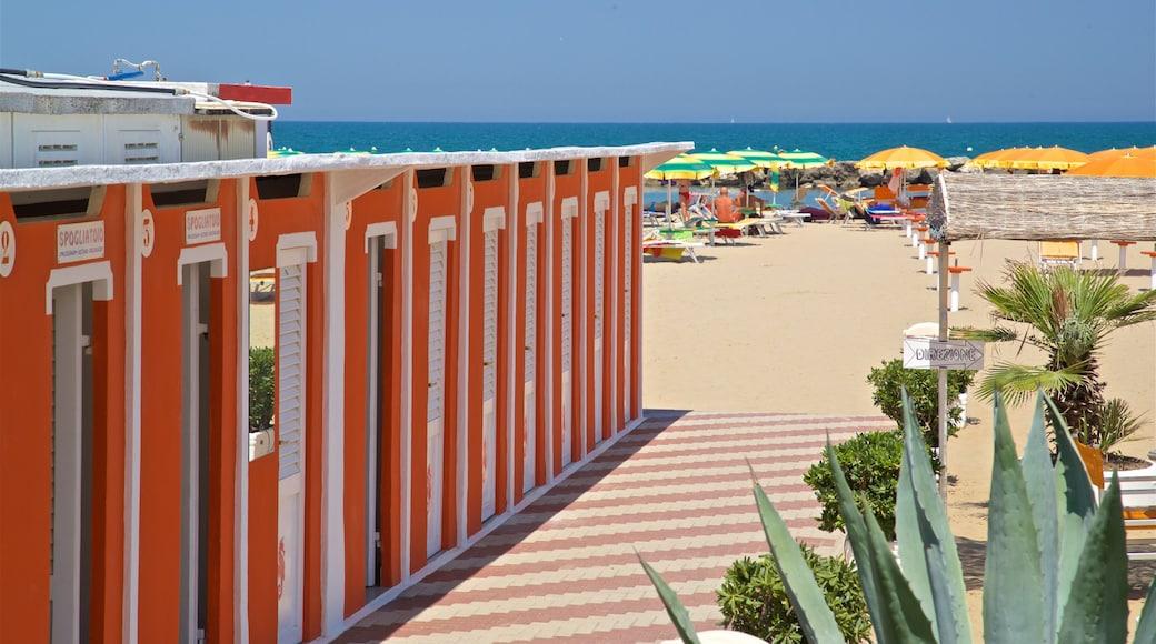 Torre Pedrera das einen allgemeine Küstenansicht und Strand