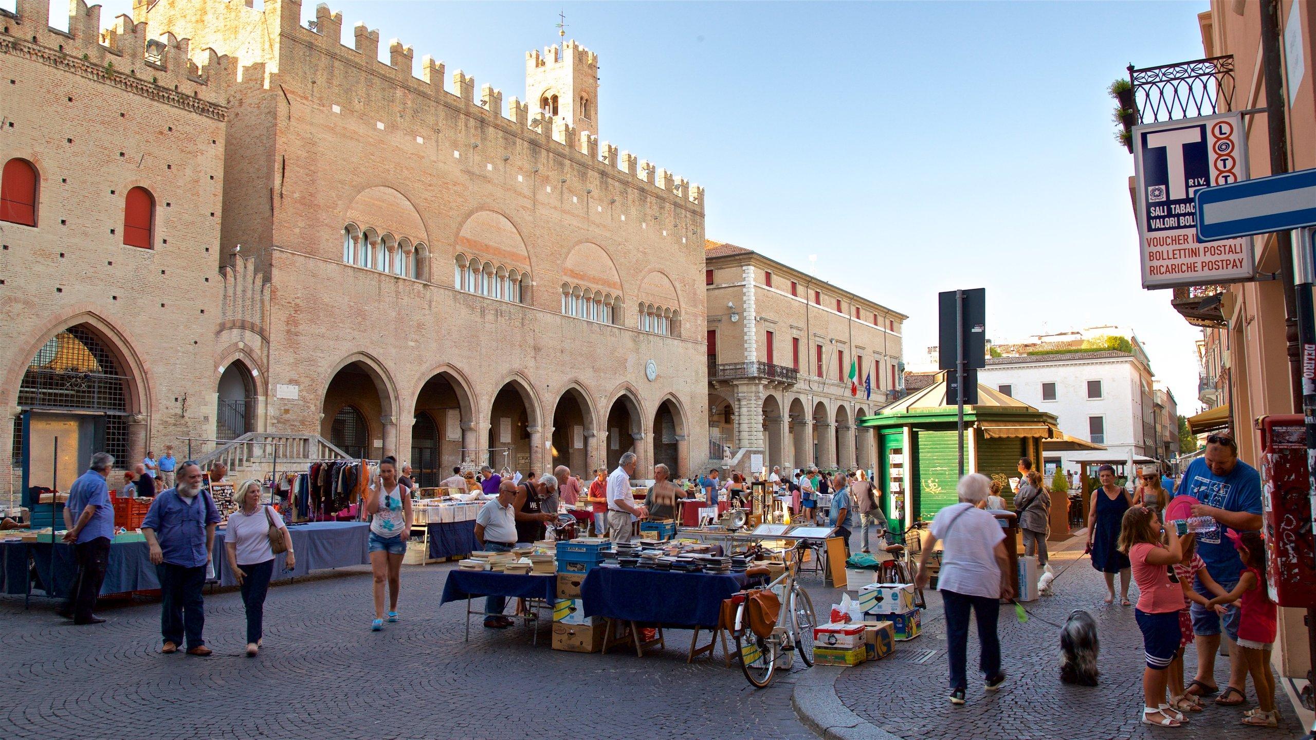 Piazza Cavour, Rimini, Emilia Romagna, Italia