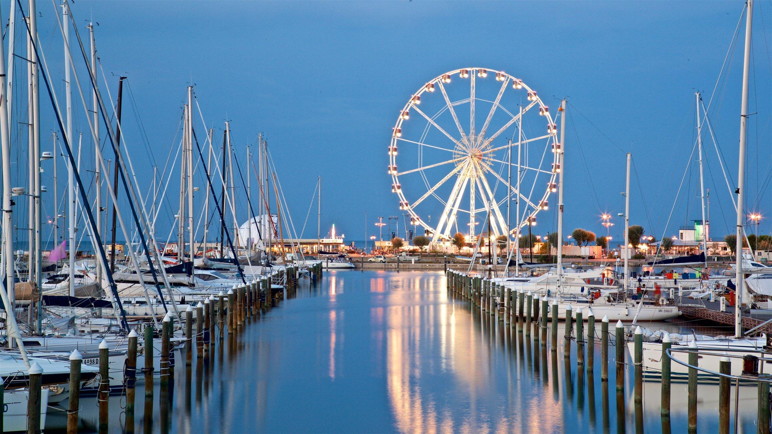 Rimini Marina, Rimini, Emilia-Romagna, Italien