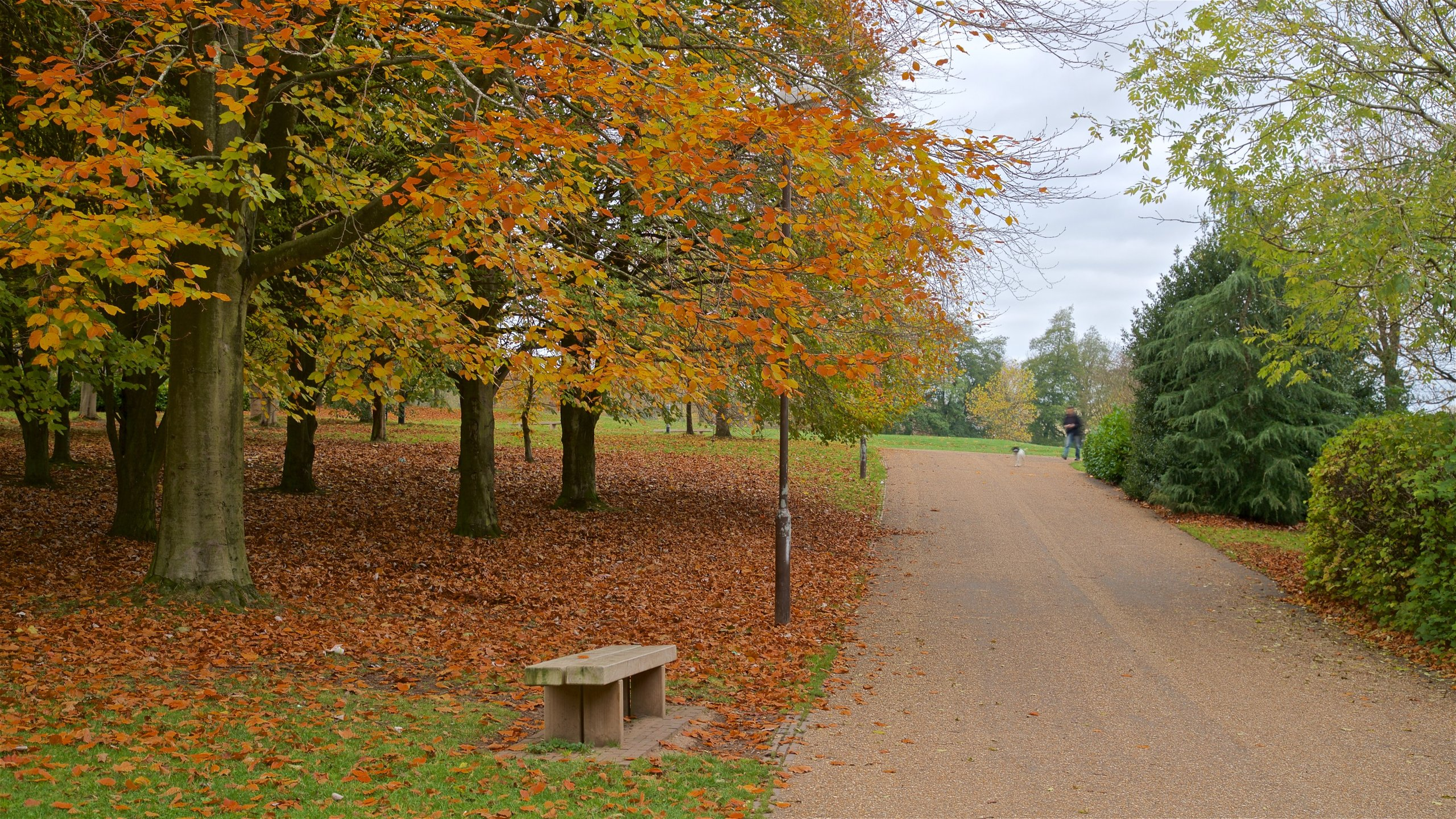 Telford Town Park, Telford, England, Großbritannien
