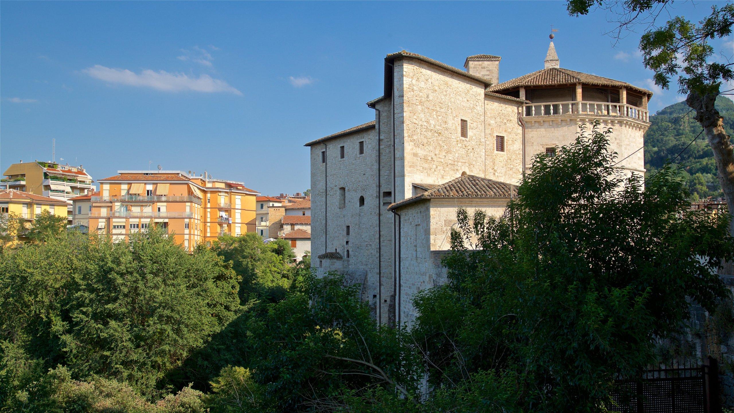 Forte Malatesta, Ascoli Piceno, Marche, Italy