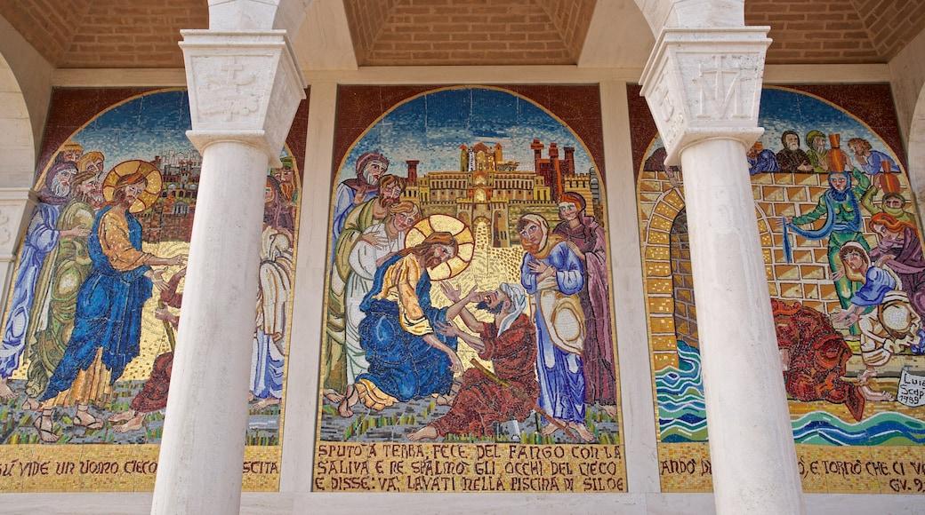 Museo d\'Arte dello Splendore das einen religiöse Elemente und Kunst