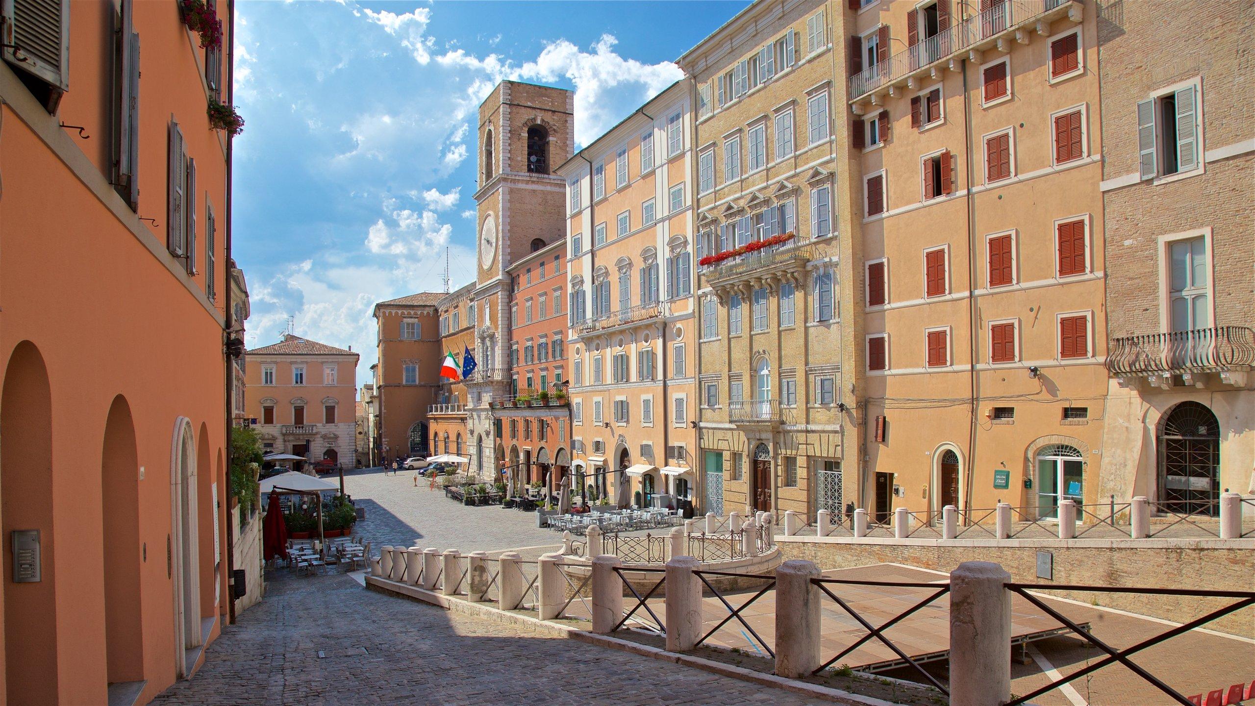 Piazza del Plebiscito, Ancona, Marche, Italien