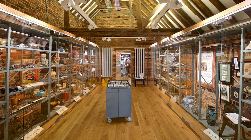 West Berkshire Museum featuring interior views