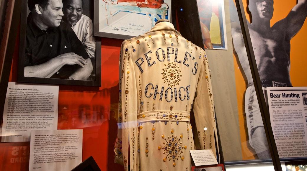 Muhammad Ali Center showing heritage elements